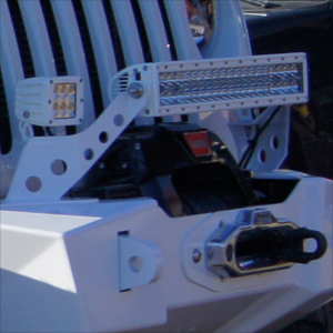 "20"" Rigid Light Bar Mount"